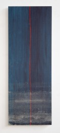 Ebb & Flow Painting Red Vertical in Blue * August 20 - 25