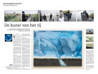 Kunst van het tij in LC ( Art of the tide - newspaper article)